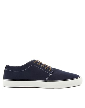 Image 4 ofASOS Plimsolls With Contrast Heel