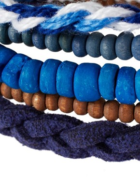 Image 4 ofIcon Brand Beaded Bracelet Pack