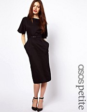 ASOS PETITE Wiggle Dress With Belt