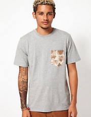 Carhartt T-Shirt Camo Pocket