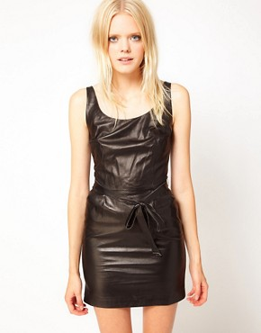 Image 1 ofKova &amp; T Kenya Leather Dress