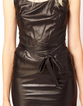 Image 3 ofKova &amp; T Kenya Leather Dress