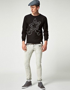 Image 4 of G Star Raw By Marc Newson Walking Star Sweatshirt