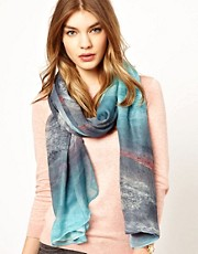 Warehouse Mountain Range Scarf