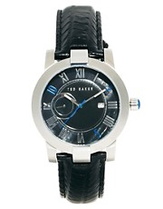 Ted Baker Leather Strap Watch TE1074