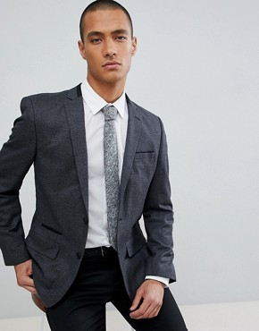 River Island Suit Jacket with Navy Check