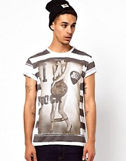 Clubbed To Death T-Shirt With Ibiza Rocks Print