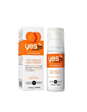 Image 1 of Yes To Carrots Nourishing Rich Moisture Day Cream 50ml