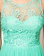 Image 3 ofLipsy Lace &amp; Mesh Skater Dress