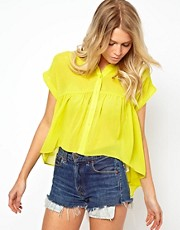 ASOS Swing Shirt With Dip Back