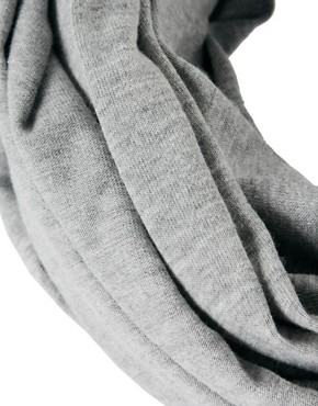 Image 3 of ASOS Grey Jersey Snood