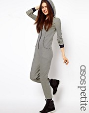 ASOS PETITE Exclusive Stripe Onesie