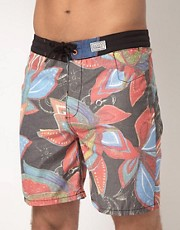 Shorts de bao con lavado cido Free Havana de Billabong