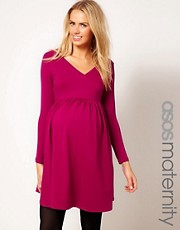 ASOS MATERNITY Wrap Dress with 3/4 Sleeve