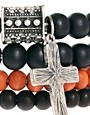 Image 3 ofIcon Brand Beaded Bracelet Pack