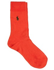 Polo Ralph Lauren Ribbed Socks