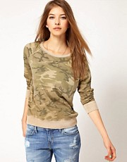 Current/Elliot Camo Sweatshirt