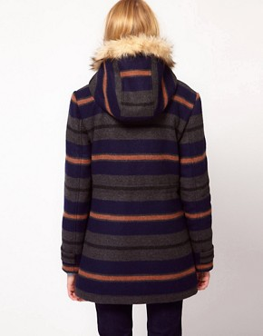 Image 2 ofBellfield Hooded Striped Jacket