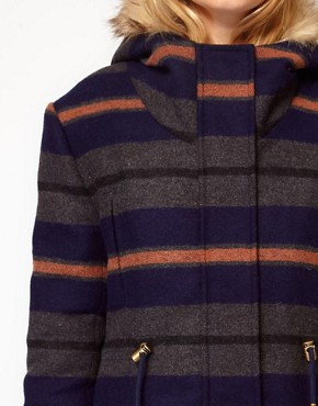 Image 3 ofBellfield Hooded Striped Jacket