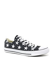 Converse All Star - Ox - Scarpe da ginnastica di tela con stampa