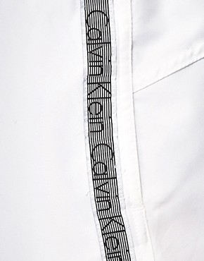 Image 3 ofCalvin Klein Logo Tape Swim Shorts