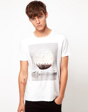 Image 1 ofASOS T-Shirt With Photographic Print
