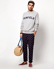 Penfield - Felpa con logo stile college