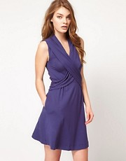 French Connection Sadie Stretch Wrap Dress