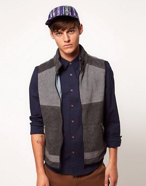 Image 1 ofASOS Fleece Gilet