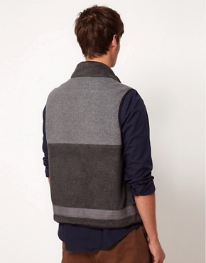 Image 2 ofASOS Fleece Gilet