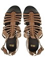 Image 3 of ASOS FREDDIE Leather Gladiator Sandals