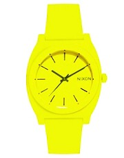 Nixon Time Teller P Neon Yellow Watch