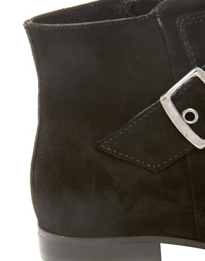 Image 3 ofKG Winkle Pointed Buckle Flat Ankle Boots