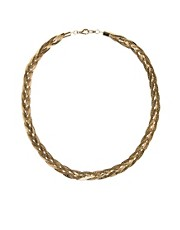 Susan Caplan Exclusive For ASOS Vintage &#39;80s Slinky Plait Necklace