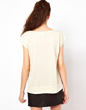 Image 2 ofVero Moda Print Front T-Shirt