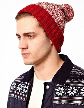 Image 2 ofASOS Twist Yarn Bobble Beanie