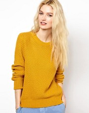 YMC Handknit Moss Stitch Sweater