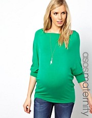 ASOS Maternity Exclusive Top With Drape Front