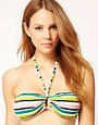 Whistles Summer Stripe Bikini Top