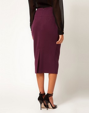 Image 2 ofASOS Longline Pencil Skirt