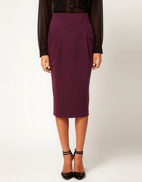 Image 4 ofASOS Longline Pencil Skirt