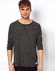 Selected Jumper With Raw Edge