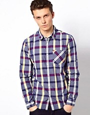 Esprit Check Shirt With Long Sleeves