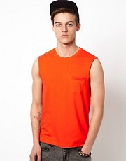 ASOS  rmelloses T-Shirt mit Tasche
