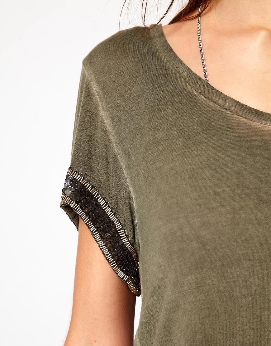 Image 3 ofDiesel T-Shirt With Embellishment