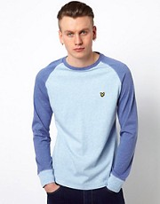 Lyle &amp; Scott Vintage Skater T-Shirt with Long Sleeves
