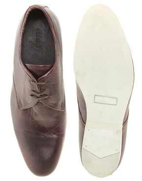 Image 3 ofDune Leather Derby Shoes