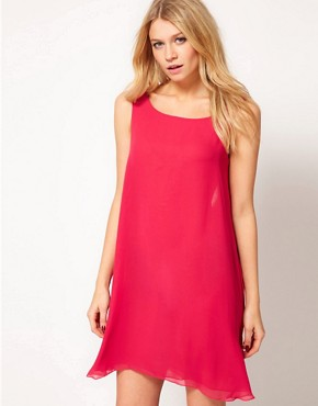 Image 2 ofLove Shift Dress with Drape Back