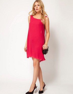 Image 4 ofLove Shift Dress with Drape Back
