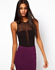 ASOS Body with Sheer Mesh